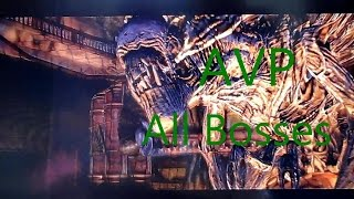Aliens vs Predator All Bosses Xbox 360