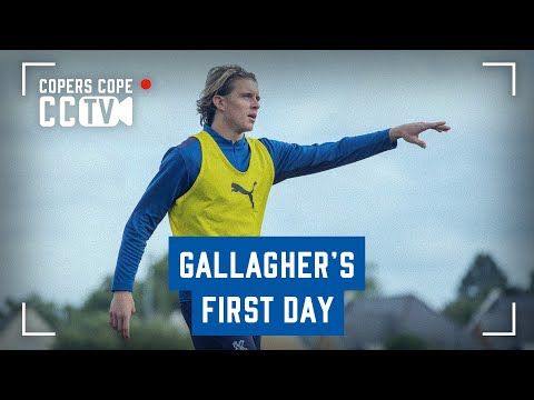 Conor Gallagher's First Day at Palace | CCTV