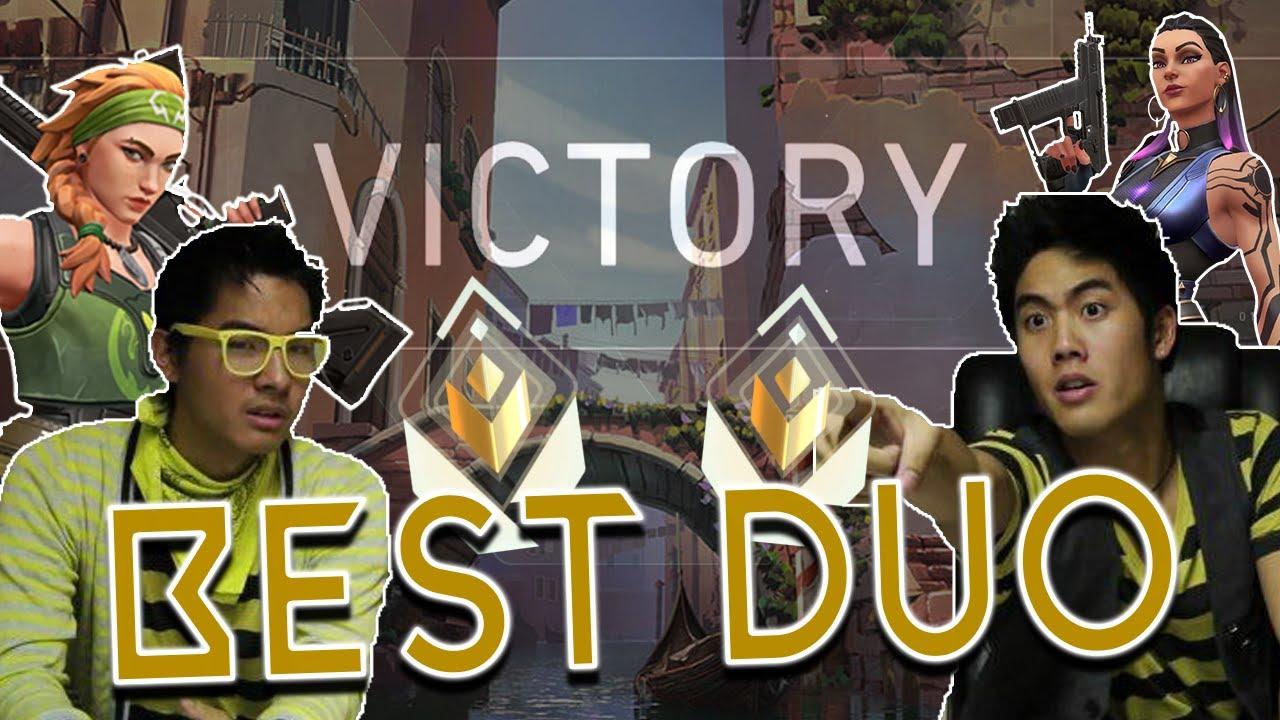Best Crew = Best Duo?   Valorant w/ Kevin Wu (aka cybermuse)