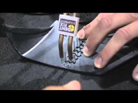 Front Bumper Repair >> Dent Fix DF-800BR Hot Stapler Plastic Repair Kit - YouTube