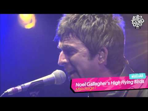 Noel Gallagher's High Flying Birds - Live Forever - Half the World Away