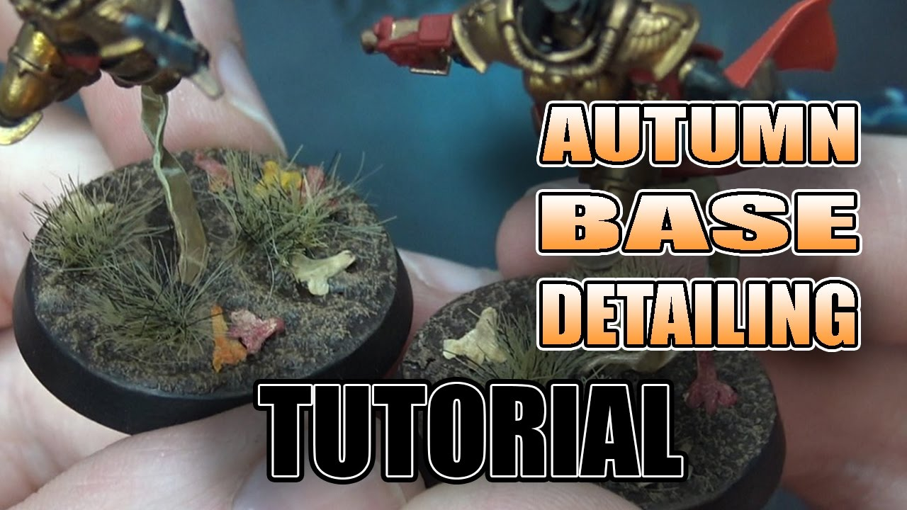 3 Hacks To Making Autumn Bases For Your Models