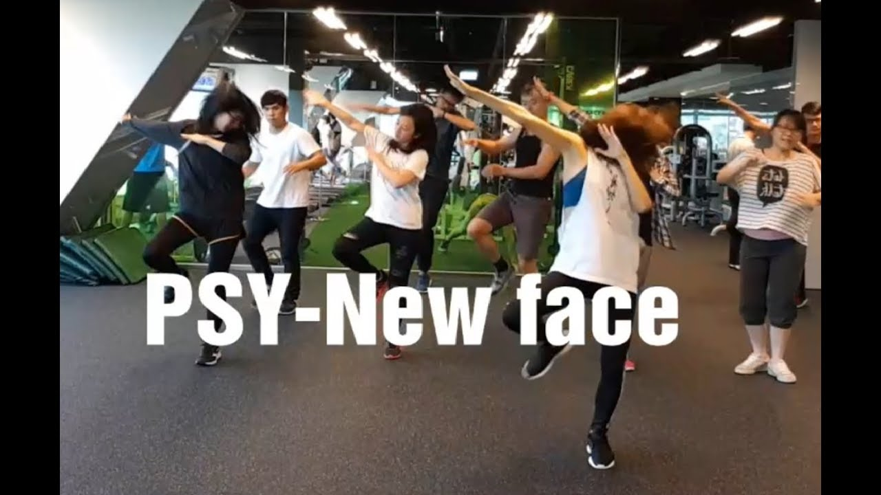 PSY-New face | 舞蹈&數拍教學-2 | Chueh minnie (mirrored) - YouTube