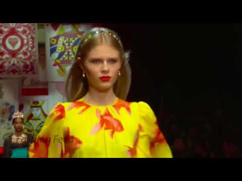 Dolce & Gabbana ¦ Spring⁄Summer 2018 ¦ Milan Fashion Week KEKC V P.S. PRCC V