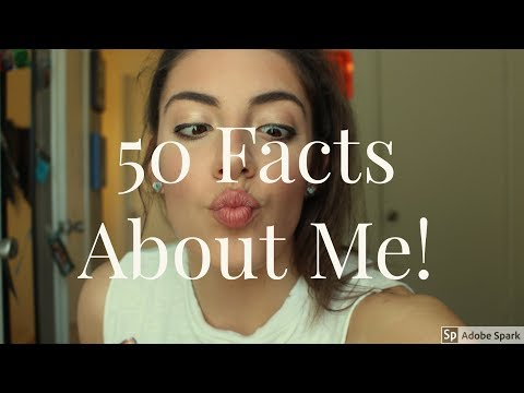 50 FACTS ABOUT ME! | Sara Whelan
