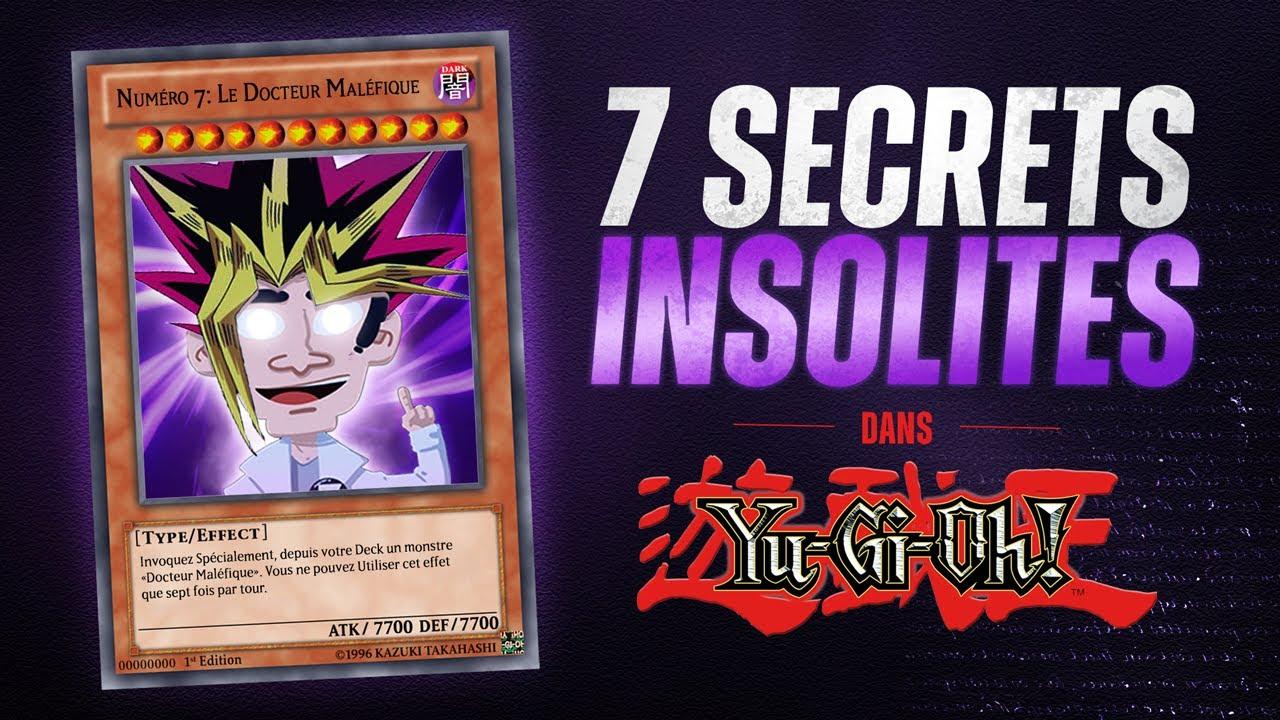 7 secrets insolites dans Yu-Gi-OH !