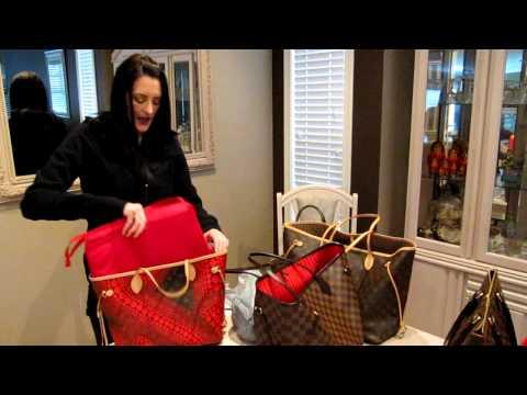 Louis Vuitton size purse organizers shown by Queenkattz