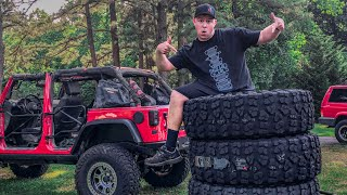"""Putting 40"""" Tires on my Jeep!"""