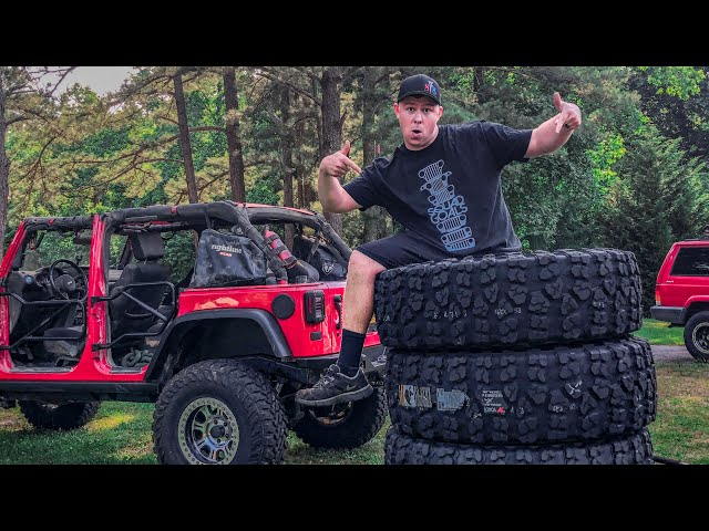 Putting 40 Tires on my Jeep!