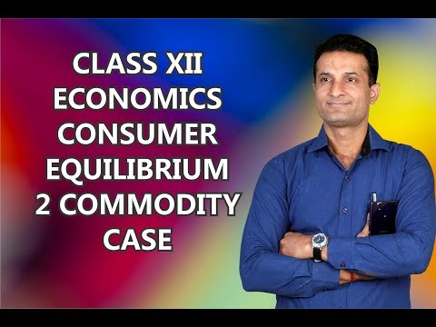 CONSUMER EQUILIBRIUM TWO COMMODITY CASE - By NARESH MALHOTRA SIR
