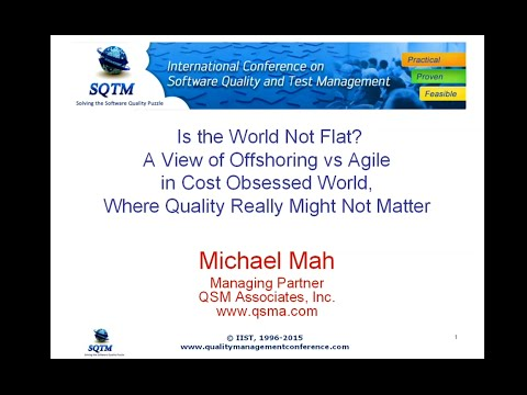 Software Testing Training | Is the World Not Flat. A View of Offshoring vs Agile