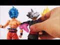 goku ultra instinto vs jiren stop motion review goku ultra instinct sh figuarts action video