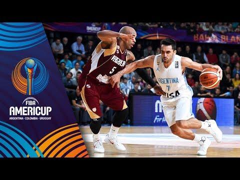 Argentina v Venezuela - Full Game - FIBA AmeriCup 2017