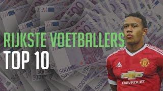TOP 10 RIJKSTE VOETBALLERS 2017