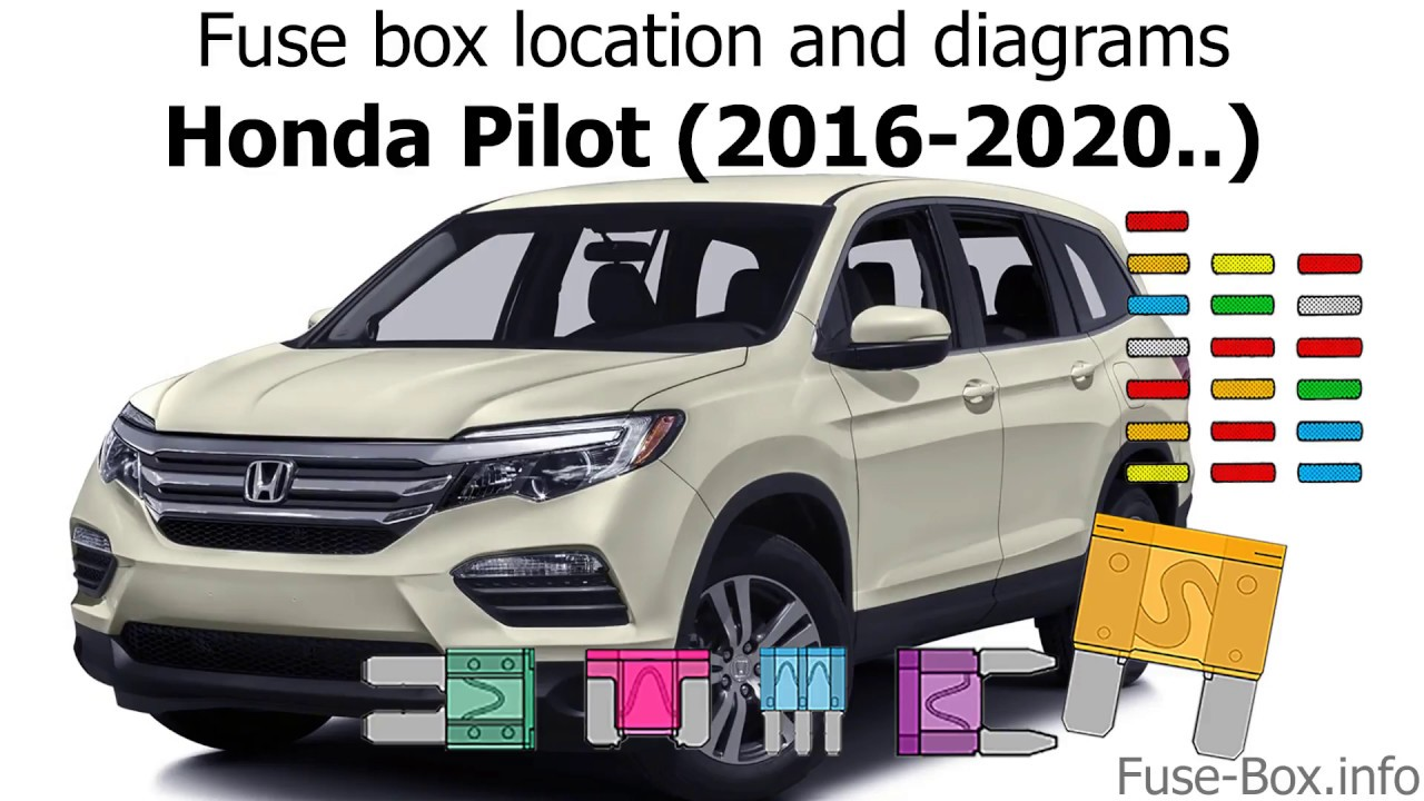 Fuse Box Location And Diagrams  Honda Pilot  2016
