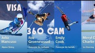 vuclip Action Camera Winter Olympics Games Visa 360 Cam iPhone App Review
