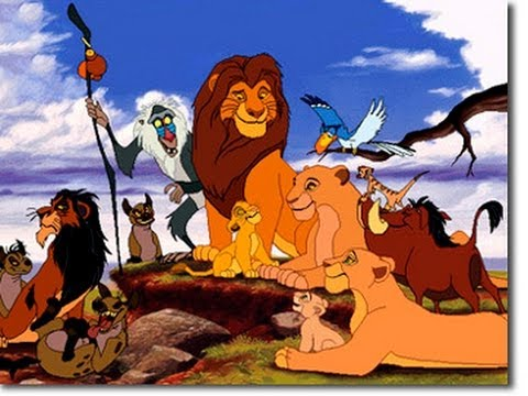 König Der Löwen Animation