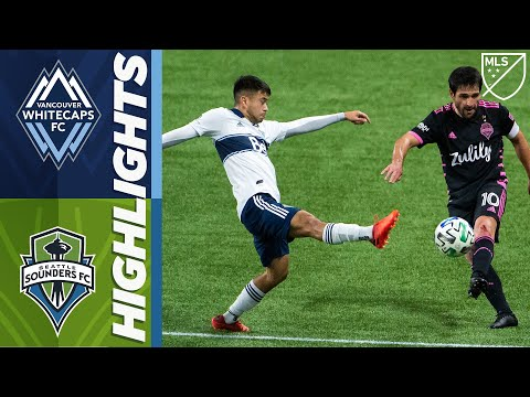 Vancouver Whitecaps Seattle Sounders Goals And Highlights