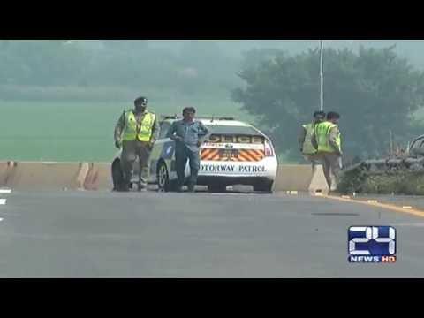 Pakistan Airforce rehearsals on Motorway   exclusive video