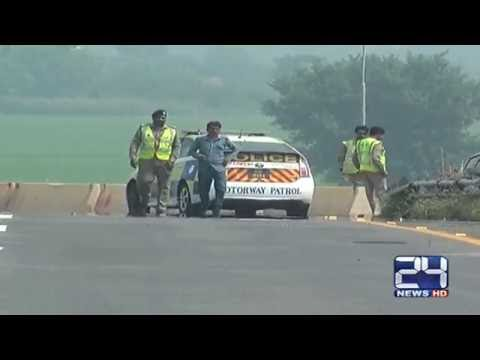 Pakistan Airforce rehearsals on Motorway   exclusive video