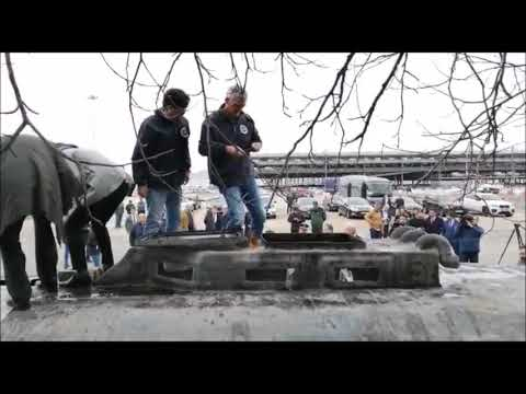 Profesionales europeos contra el narcotráfico analizan el narcosubmarino