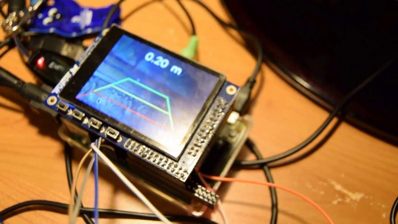 Rear-view camera - Raspberry Pi (kamera cofania)