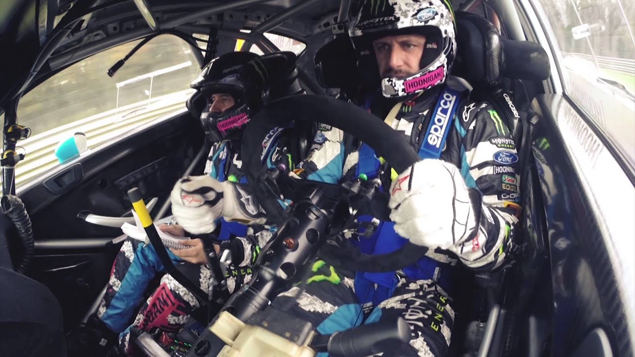 Valentino Rossi Ken Block Take On The World Famous Monza Rally Closeup Photo Speedcircuitmonzafullresjpg