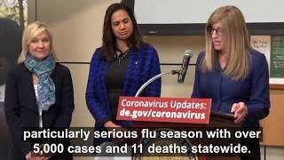 Delaware prepares for coronavirus disease