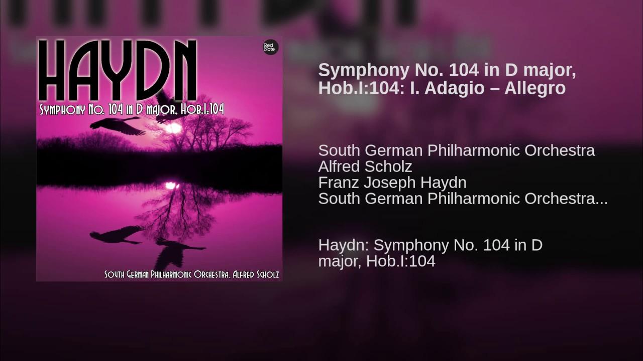 Haydn symphony 104 essay writing