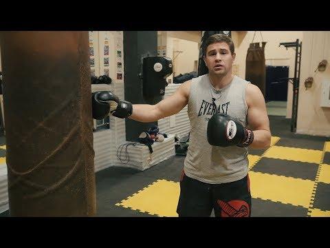 Уроки бокса видео работа с грушей