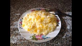 Мой рецепт тыквенной каши с рисом//Кабакова каша з рисом//Детки ее просто обожают.
