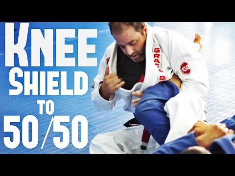Knee Shield to 50/50 BJJ Technique with Professor Dave Weber
