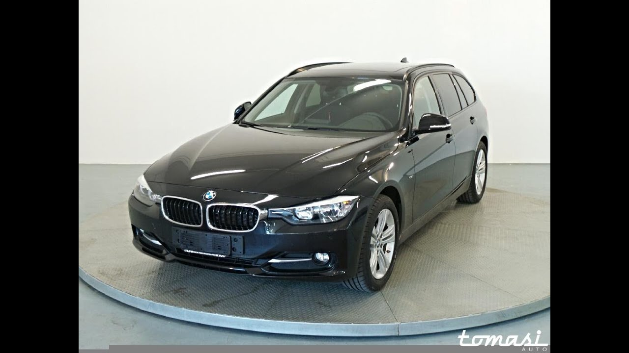 bmw 318d touring sport nero youtube. Black Bedroom Furniture Sets. Home Design Ideas