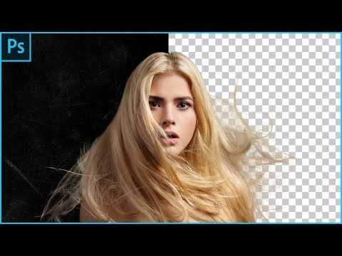 The Best Way And Fastest Way To Select Hair In Adobe Photoshop Cc   New Tutorial 2018