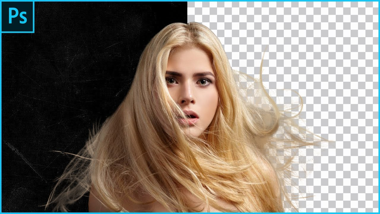 The Best Way And Fastest Way To Select Hair In Adobe Photoshop Cc New  Tutorial 12