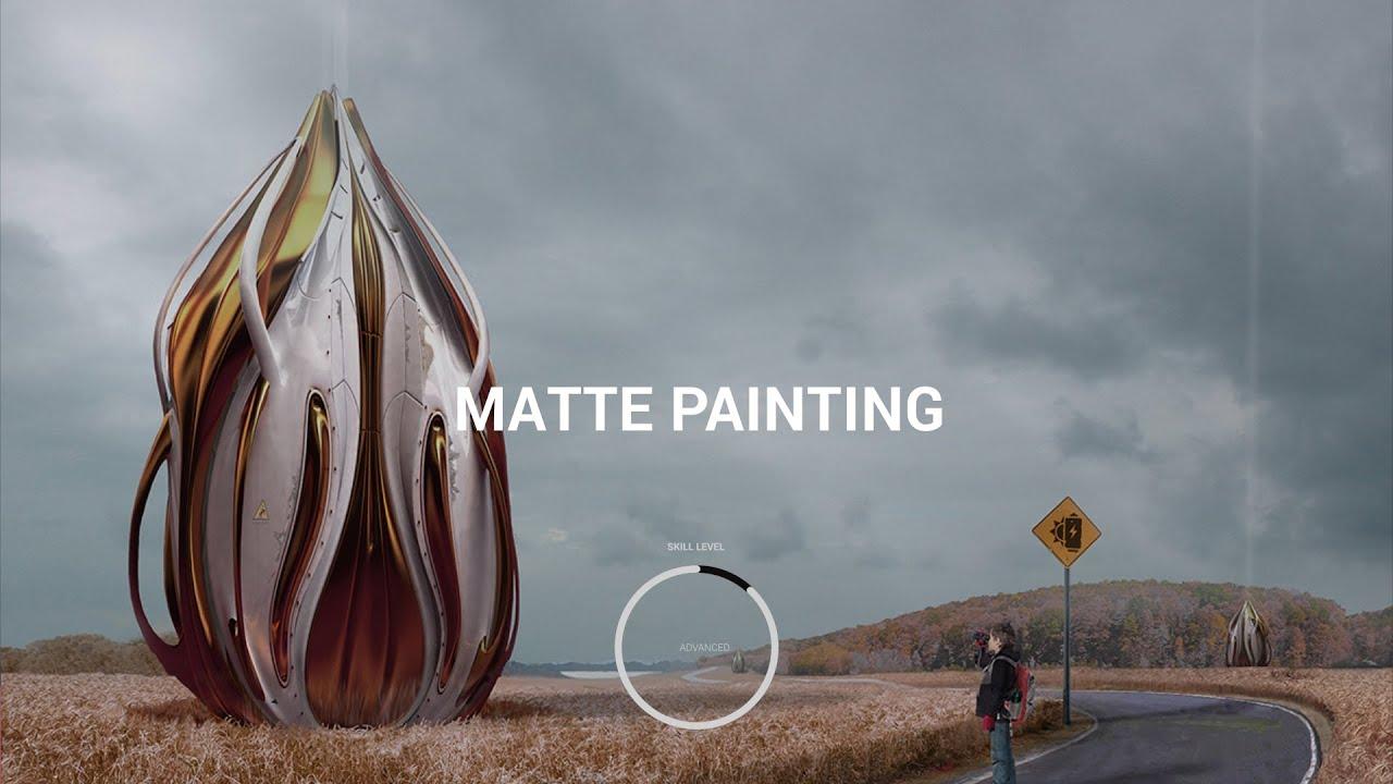 CGMA - Matte Painting