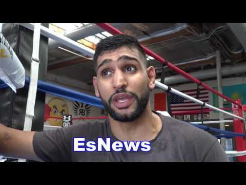 Amir Khan Full Interview On Canelo Chavez Jr Mayweather McGregor Pacquiao