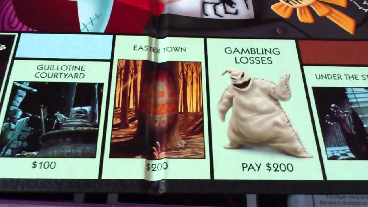Monopoly Review 6 - Nightmare Before Christmas - YouTube