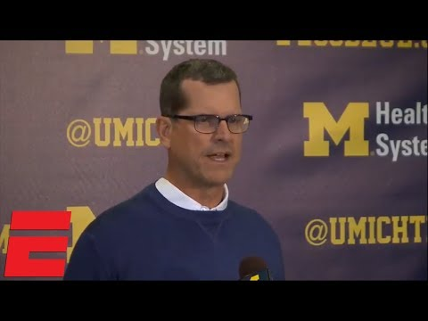 Jim Harbaugh: Calling Michigan State march