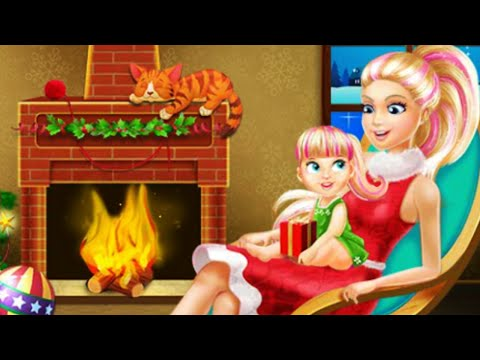 Barbie Games Online - Christmas Barbie House Decorating - Online Barbie Games For Kids