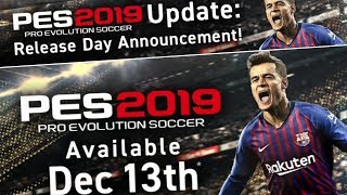 Pes 2019 • Official Updates by Konami