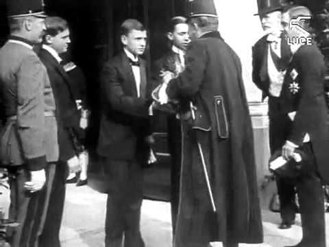 Wedding  Emperor Charles I of Austria & Zita   Hochzeit Kaiser Charles I von Österreich und Zita