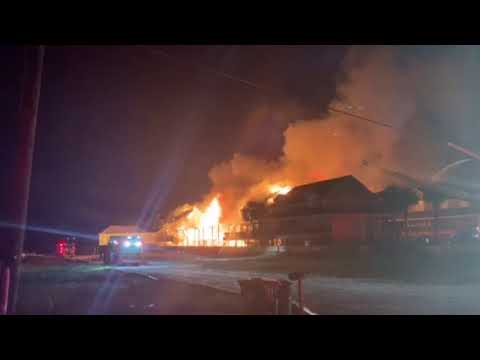 Mason - Massive Perdido Key Blaze: Photos and Video