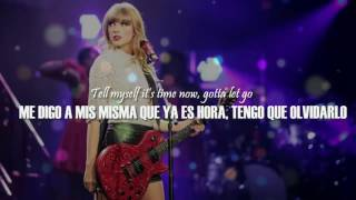 Red - Taylor Swift (SUBTITULO ESPAÑOL - INGLES)
