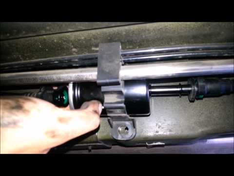 DIY How to Change your Fuel Filter (2005 - 2010 Ford Mustang GT) - Winston Buzon