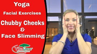 Yoga Facial Exercises : How to Lose Your Chubby Cheeks : Face Slimming Exercises - VitaLife Show 144