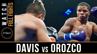 Davis vs Orozco FULL FIGHT: June 3, 2016 - PBC on Spike