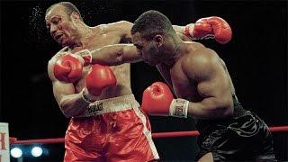 Os socos poderosos de Mike Tyson - Uma máquina de nocautear.