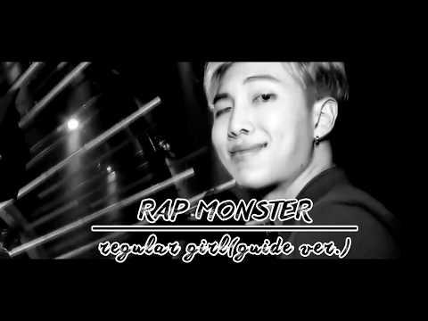 [Sub Español|Han|Rom] Rap Monster | Regular Girl (Guide ver.)