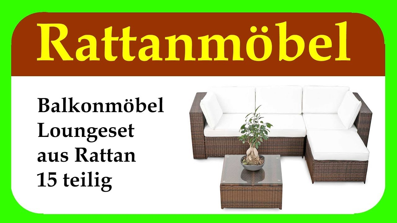 balkonmoebel lounge balkon polyrattan lounge ecke loungem bel f r outdoor balkon und terrasse. Black Bedroom Furniture Sets. Home Design Ideas